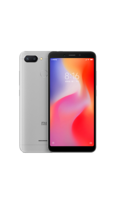 Xiaomi Redmi 6 4/64GB Серебристый (Global Version)